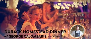 Durack Homestead Dinner