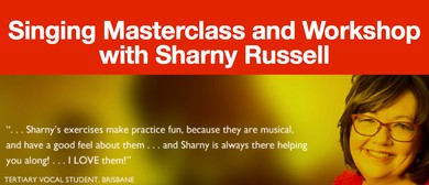 Singing Workshop and Masterclass with Sharny Russell