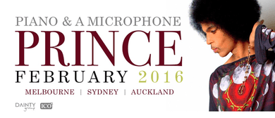 Prince Piano and A Microphone Tour