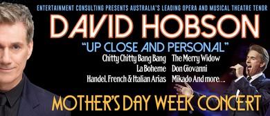 David Hobson 'Up Close & Personal' Concert