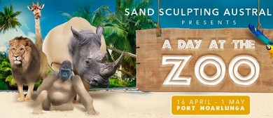 A Day At the Zoo - Sand Sculpting Australia
