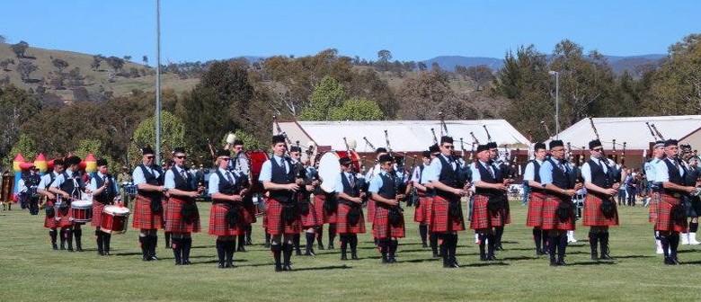 Canberra Highland Gathering & Scottish Fair 2016