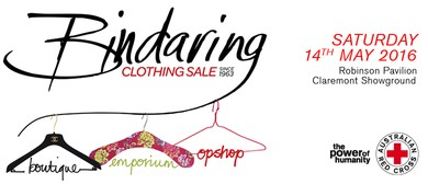 Bindaring Red Cross Clothing Sale