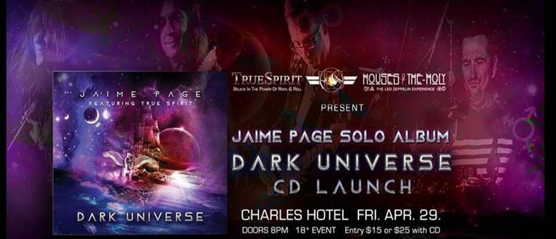 Jaime Page Dark Universe CD Launch