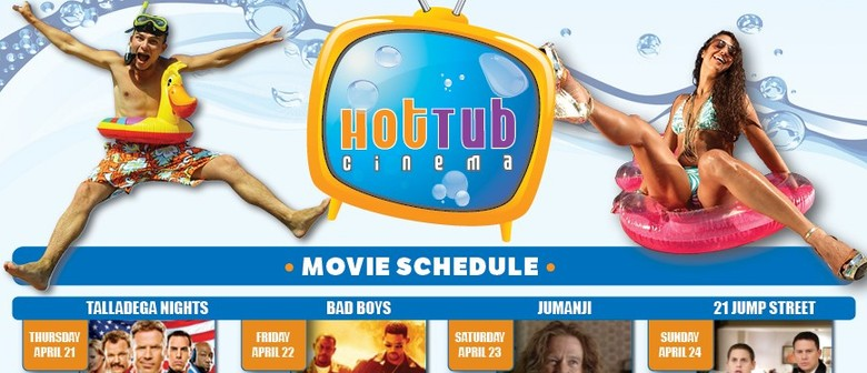 Splash Out Hire - Hot Tub Cinema