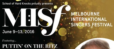 Melbourne International Singers Festival 2016