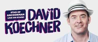 David Koechner Australian Tour