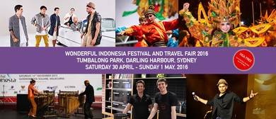 Wonderful Indonesia Festival and Travel Fair 2016