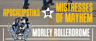 Perth Roller Derby 2016 - Apocalipstiks Vs Mistresse