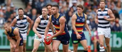 Adelaide Crows Versus Geelong