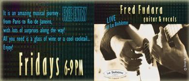 Bohemian Fridays With Fred Fudara
