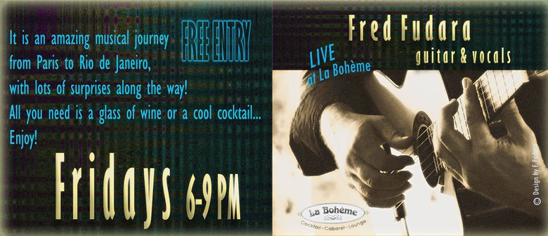Bohemian Fridays With Fred Fudara