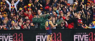 Adelaide Crows Versus Brisbane Lions