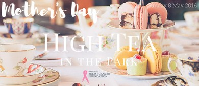 Mother's Day High Tea in the Park