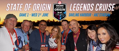 State of Origin 1 Legends Cruise to ANZ Stadium
