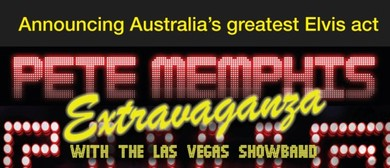 Elvis Pete Memphis Extravaganza With Las Vegas Showband