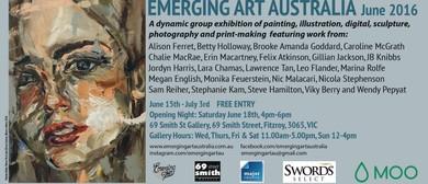 Emerging Art Australia - June 2016 Group Exhibition