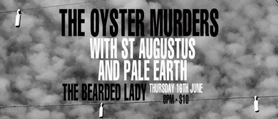The Oyster Murders With St Augustus and Pale Earth