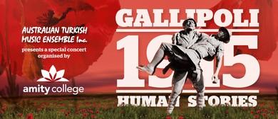 Gallipoli 1915 - Human Stories