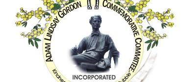 Adam Lindsay Gordon Statue Gathering