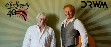 Air Supply - 40th Anniversary Tour