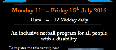 Netball School Holiday Program
