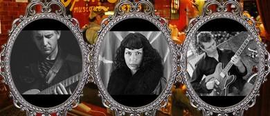 Jackie Bornstein With Two Guitars - Fermanis & Willis