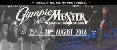 Gympie Music Muster 2016