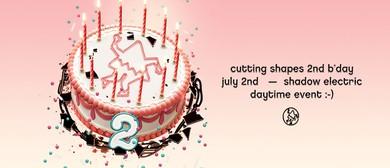 Cutting Shapes 2nd Birthday