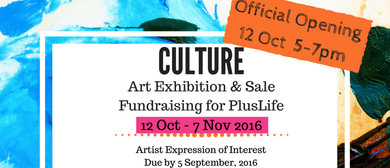 Culture - Art Exhibition & Fundraiser