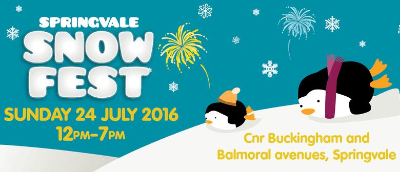 Springvale Snow Fest 2016