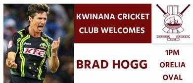 Kwinana Cricket Club - Brad Hogg 20/20 Match