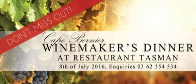 Boutique Cape Bernier Winemaker's Dinner