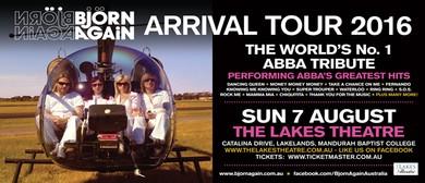 Bjorn Again The Arrival Tour 2016