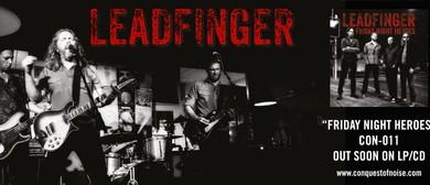 Leadfinger Album Launch Tour