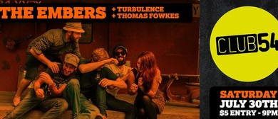 The Embers, Turbulence, Thomas Fowkes