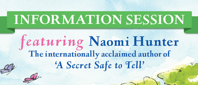 Information Session With Author Naomi Hunter