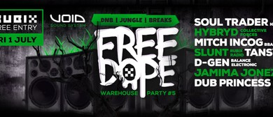 Dope-Drum and Bass Warehouse Party
