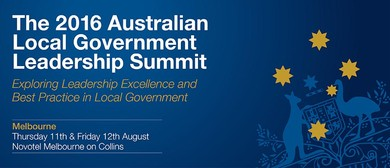 The 2016 Australian Local Government Leadership Summit