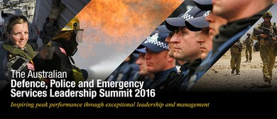 Defence, Police and Emergency Services Leadership Summit