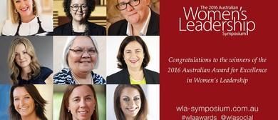 Women's Leadership Symposium 2016