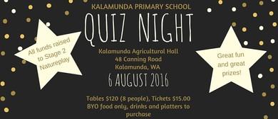 Kalamunda Primary School Quiz Night