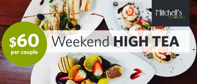 Weekend High Tea