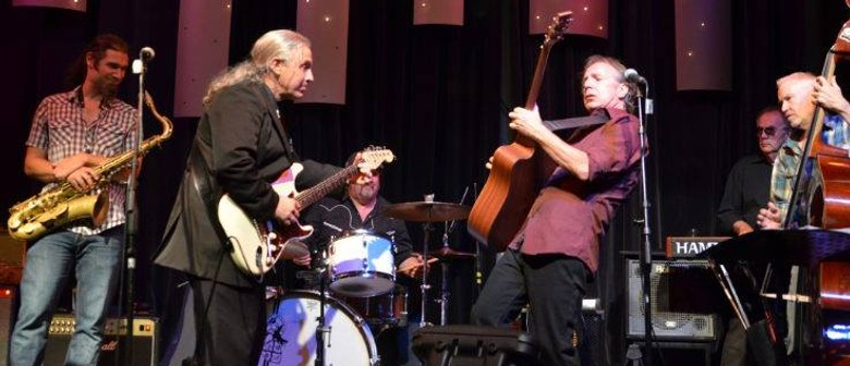 Friday Night - Keith Hall and Pat Dow Blues Band