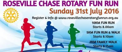 Roseville Chase Rotary Fun Run