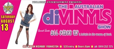 The Australian Divinyls Show & All Fired Up Tribute