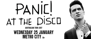 Panic! At the Disco - Australian Tour 2017