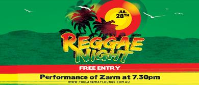 Laneway Reggae Night