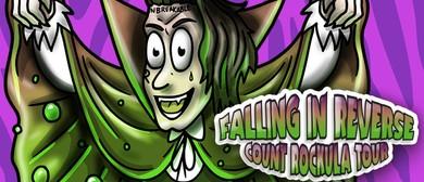 Falling In Reverse - Count Rockula Tour