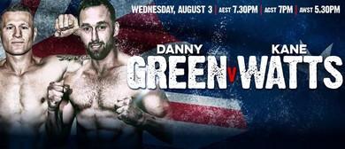 Danny Green V Kane Watts
